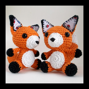 Crochet_fox_pattern_twins