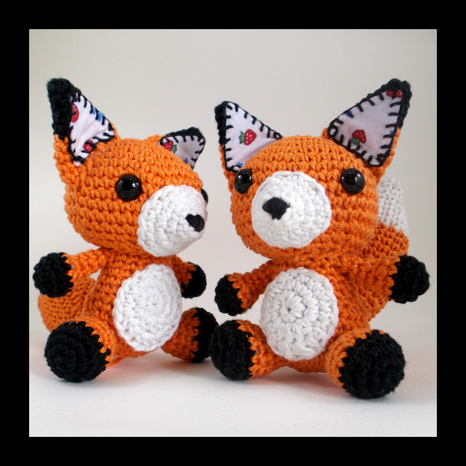 Feeling Foxy! A New Crochet Fox Pattern is Available! - Eden Reborn