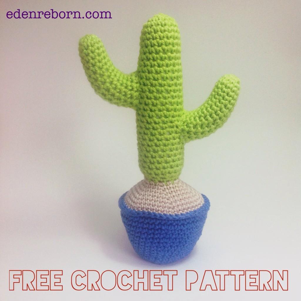 Crochet-cactus