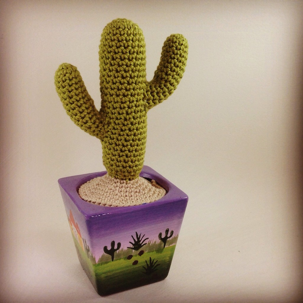 Free Crochet Pattern For Cactus : Free Crochet Cactus Pattern - Eden Reborn