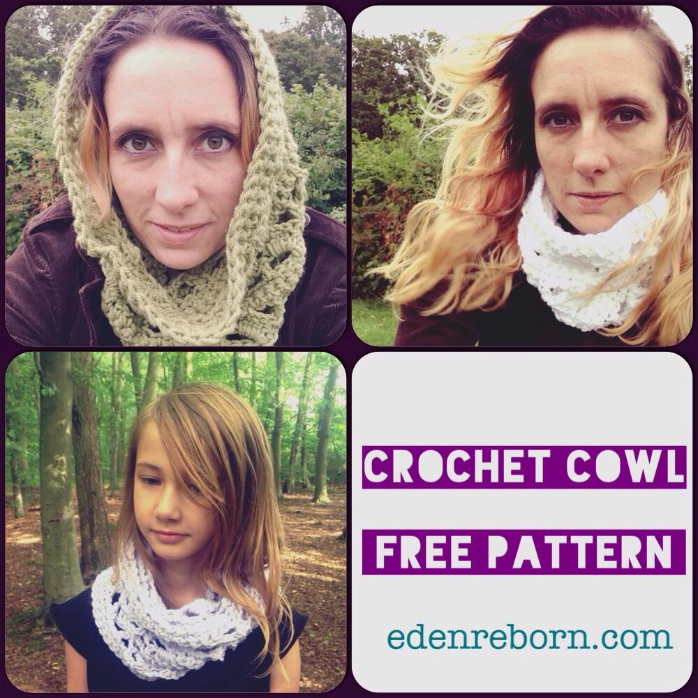 Crochet Cowl – Free Pattern for all seasons