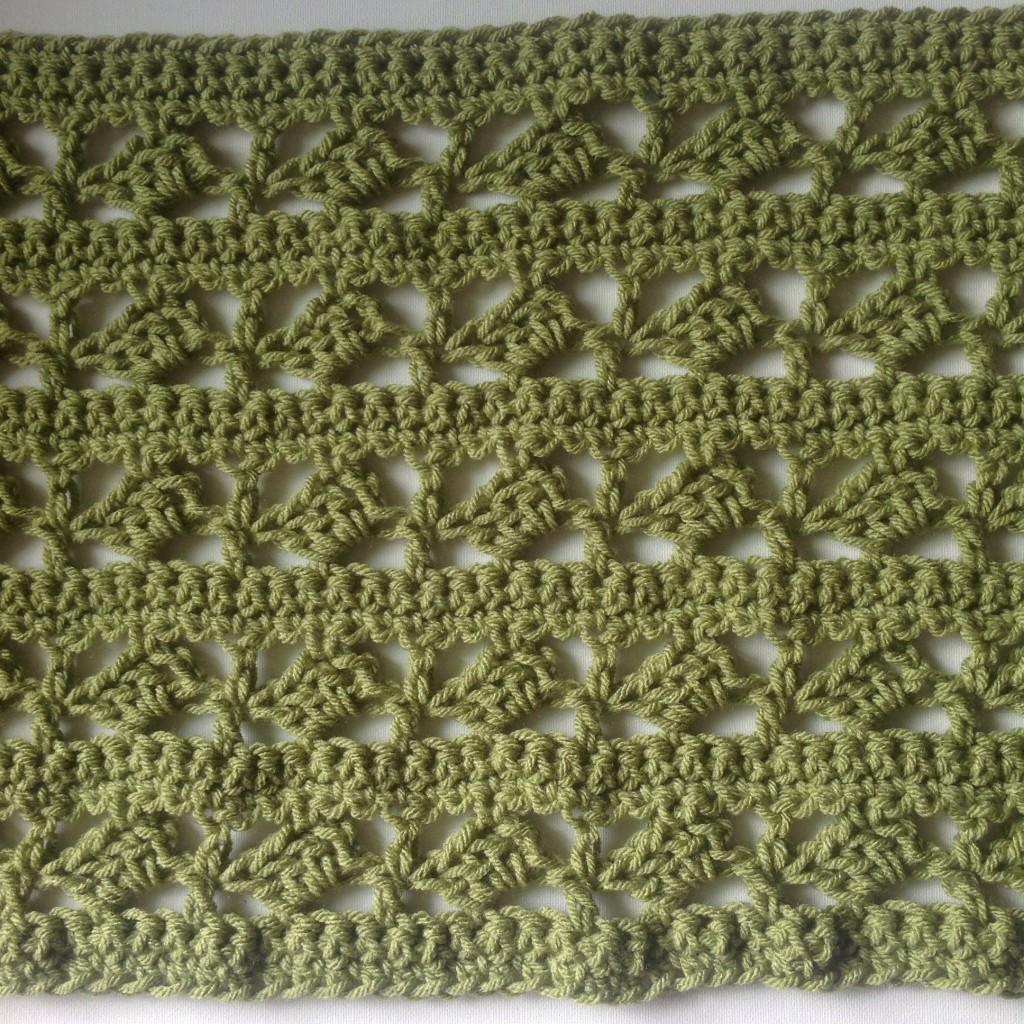 Crochet cowl stitch used for free pattern